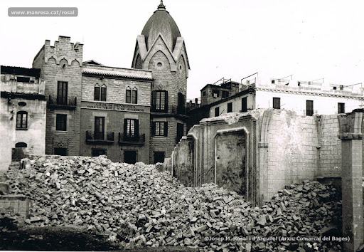 Enderroc de l'església de Sant Pere Mártir [1936]